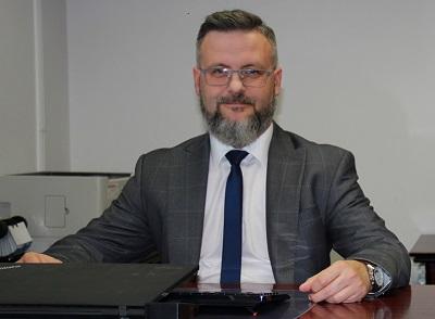 Marcin Wójtowicz pełniącym obowiązki Głównego Geodety Kraju (fot. GUGiK)